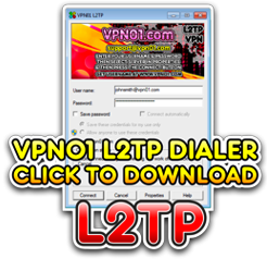 Download Our L2TP Windows VPN Dialer