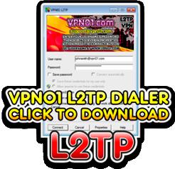 Download Our L2TP Windows VPN Dialer